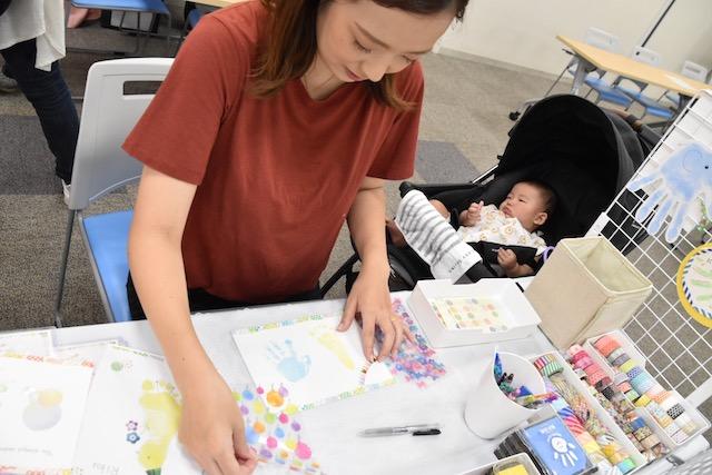 手形アート 赤ちゃん